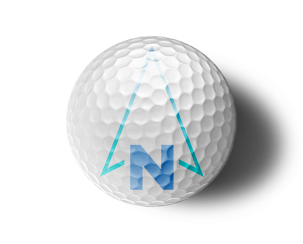 north golf ball